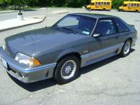 1987 FORD MUSTANG GT ORIGINAL 9,400 TRUE MILES