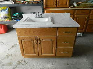Sink, taps and Vanity $100 FIRM