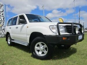 2001 Toyota Landcruiser HZJ105R Standard White 5 Speed Manual Wagon Wangara Wanneroo Area Preview