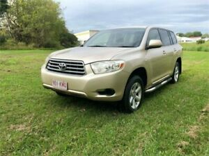 2007 Toyota Kluger GSU40R KX-R (FWD) 7 Seat Gold 5 Speed Automatic Wagon Yeerongpilly Brisbane South West Preview