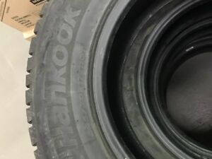 """17"""" Hankook I-Pike   studded in excellent condition"""