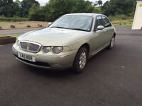 2000 Rover 75 saloon 2.0L. One owner good condition long MOT