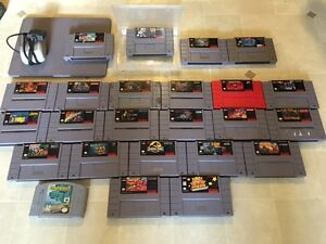 Selection of video games. SNES and more