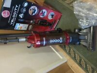 HOOVER VELOCITY UPRIGHT VACUUM----NEARLY NEW--ALL BOXED