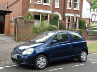 Toyota Yaris vvt-i. 1 lady owner from new full Toyota service history