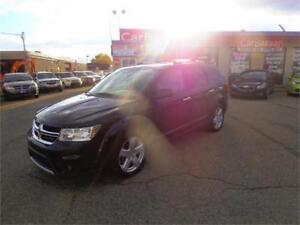 2012 DODGE JOURNEY RT AWD LEATHER ROOF NAVIGATION LOADED