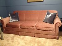 Simmons Hide-a-bed three seated sofa