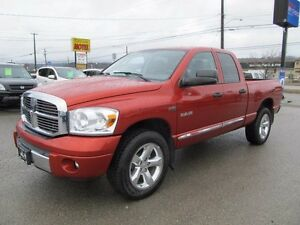 2008 Dodge Ram 1500 Laramie 4x4 Quad Cab 140.5 in. WB