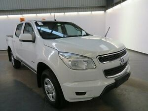 2012 Holden Colorado RG LX (4x4) White 6 Speed Automatic Crewcab Albion Brimbank Area Preview