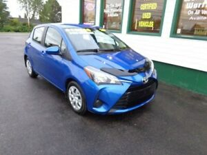 2019 Toyota Yaris Hatchback LE for only $159 bi-weekly! 855kms!
