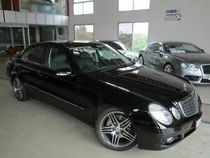 2006 Mercedes-Benz E200 Kompressor W211 MY06 Avantgarde Black 5 Speed Sports Automatic Sedan Albion Brisbane North East Preview