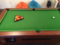 West bury 7x4 foot Pool Table
