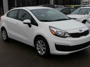 2017 Kia Rio LX, 6 SPEED, SIRIUS, PREMIUM CLOTH, AUX/USB