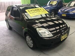 2005 Ford Fiesta WP LX Black 4 Speed Automatic Hatchback Five Dock Canada Bay Area Preview