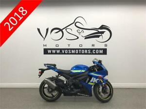 2018 Suzuki GSX-R750L8 - V3206 - No Payments For 1 Year**