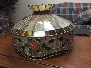 Hand crafted stained glass lamp