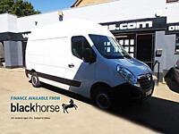 2014 Vauxhall Movano 2.3CTDi 125ps L2 H2 LWB A/C Park/Sens E/Pack Diesel white M