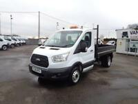 Ford Transit One Way Tipper DIESEL MANUAL WHITE (2016)