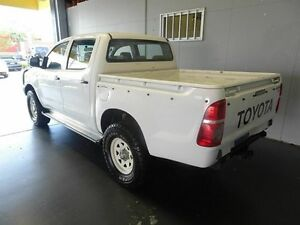 2008 Toyota Hilux KUN26R 07 Upgrade SR (4x4) White 5 Speed Manual Dual Cab Pick-up Woodridge Logan Area Preview