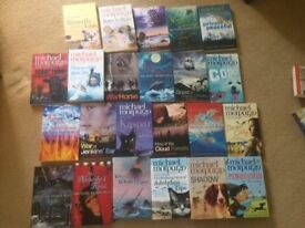 23 Michael Morpurgo Fiction Books Suitable for Early Teens - All in Excellent Condition