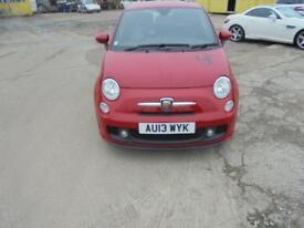 Abarth 500 red