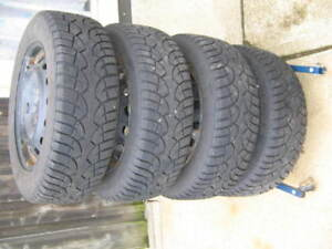 General Altimax Artic Tires/rims (Winter tires)