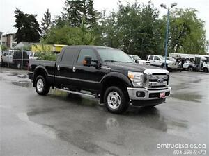 2013 FORD F-250 SUPER DUTY XLT CREW CAB SHORT BOX 4X4