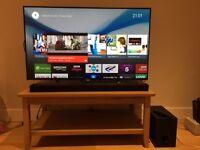 """SONY BRAVIA KD49X8309CBU Smart 4k Ultra HD 49"""" LED TV + SONY Sound Bar set"""