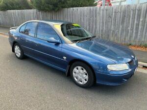 2001 Holden Commodore VX II Lumina Blue 4 Speed Automatic Sedan North Hobart Hobart City Preview