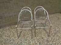 Tubular Chrome Chairs
