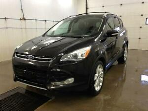 2013 Ford Escape Titanium - Sunroof, Navigation, Blindspot