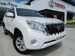 2014 Toyota Landcruiser Prado KDJ150R MY14 GXL (4x4) White 5 Speed Sequential Auto Wagon Greenway Tuggeranong Preview