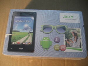 acer 7 inch tablet iconia one 7, brand new, never opened. Red co