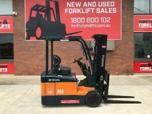 Toyota FBE15 CONTAINER MAST NEW BATTERY  S/N 59272 $14,090   GST Neg Coopers Plains Brisbane South West Preview