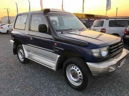 1999 Mitsubishi Pajero GLS LWB Manual SUV Durack Palmerston Area Preview