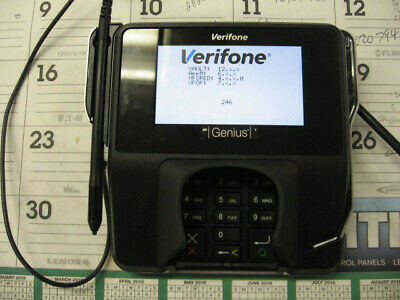 Verifone Mx915 Pin-pad Credit Card Point Of Sale Terminal W Io And Cables