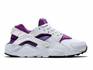 Nike-Air-Huarache-Run-GS-Junior-Womans-girls-Trainers-Shoes-654280-105