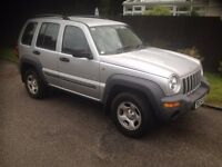 jeep cherokee 2.5 td diesel 4x4 4 wheel drive £1995