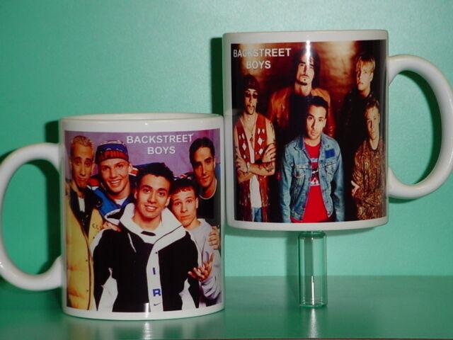 BACKSTREET BOYS - with 2 Photos - Designer Collectible GIFT Mug