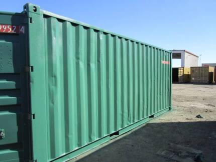 QUICK SALE - $2450 + GST - Refurbished 20ft Container (Green)