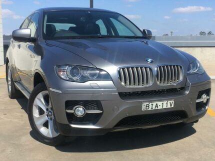 2009 BMW X6 E71 xDrive35d Coupe Steptronic Grey 6 Speed Sports Automatic Wagon