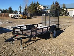 New 5ft  x 10ft Utility Trailer by SWS -*$2,288.00 Tax In $$*-