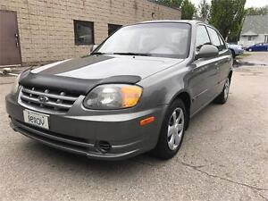 2005 Hyundai Accent automatic super clean