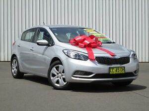 2015 Kia Cerato YD MY15 S Silver 6 Speed Sports Automatic Hatchback Kings Park Blacktown Area Preview