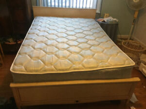 Double Bed for sale  Mattress and framefor sale