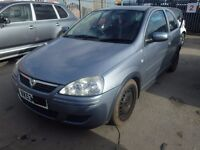2003 Vauxhall Corsa C Semi Automatic Breaking Grey Door Gearbox Engine Windcsreen Glass Boot Alloy