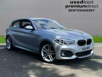 2018 BMW 1 Series 120D M Sport 3Dr [Nav/Servotronic] Hatchback Automatic