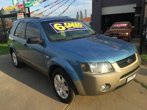 2006 Ford Territory SY TX (4x4) 6 Speed Auto Seq Sportshift Wagon Brooklyn Brimbank Area Preview