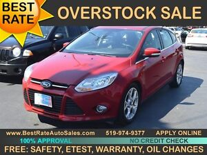 2012 Ford Focus SEL - LEATHER, SUNROOF can be yours for $48/week
