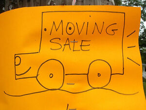 Moving Sale -- Everything must go